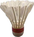 Anand's Chameli Feather Shuttle  - White...