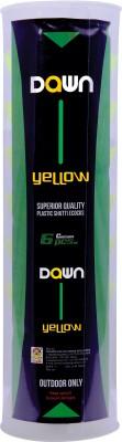 Techno Dawn Yellow Plastic Shuttle  - Yellow