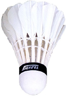 Silver's Suzuki Feather Shuttle  - White(Pack of 10)