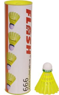 Flash Cock 999 Nylon Shuttle  - Yellow