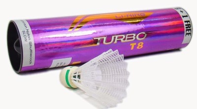 Li-Ning Turbo T8 Nylon Shuttle  - White