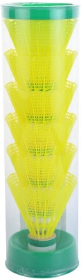 ONX A1 Plastic Shuttle  - Yellow(Medium, 77, Pack of 6)