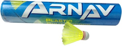 Arnav A1 Plastic Shuttle  - Yellow
