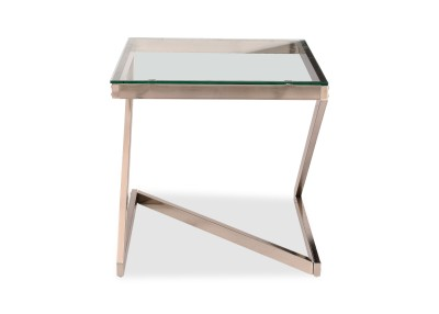 Durian ASIAB/31421 Glass Side Table