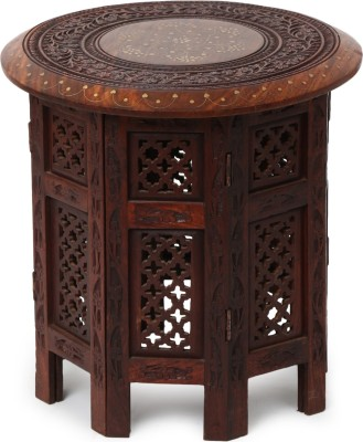 Decorhand Stylish Delight Solid Wood End Table