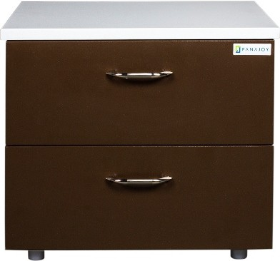 View Panajoy Panajoy Metal Bedside Table(Finish Color - Brown) Furniture (Panajoy)