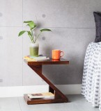 HomeEdge Solid Wood End Table (Finish Co...
