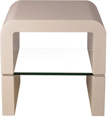 HomeTown Alberta Engineered Wood Side Table