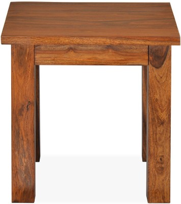 @home by Nilkamal Citrine Solid Wood Side Table
