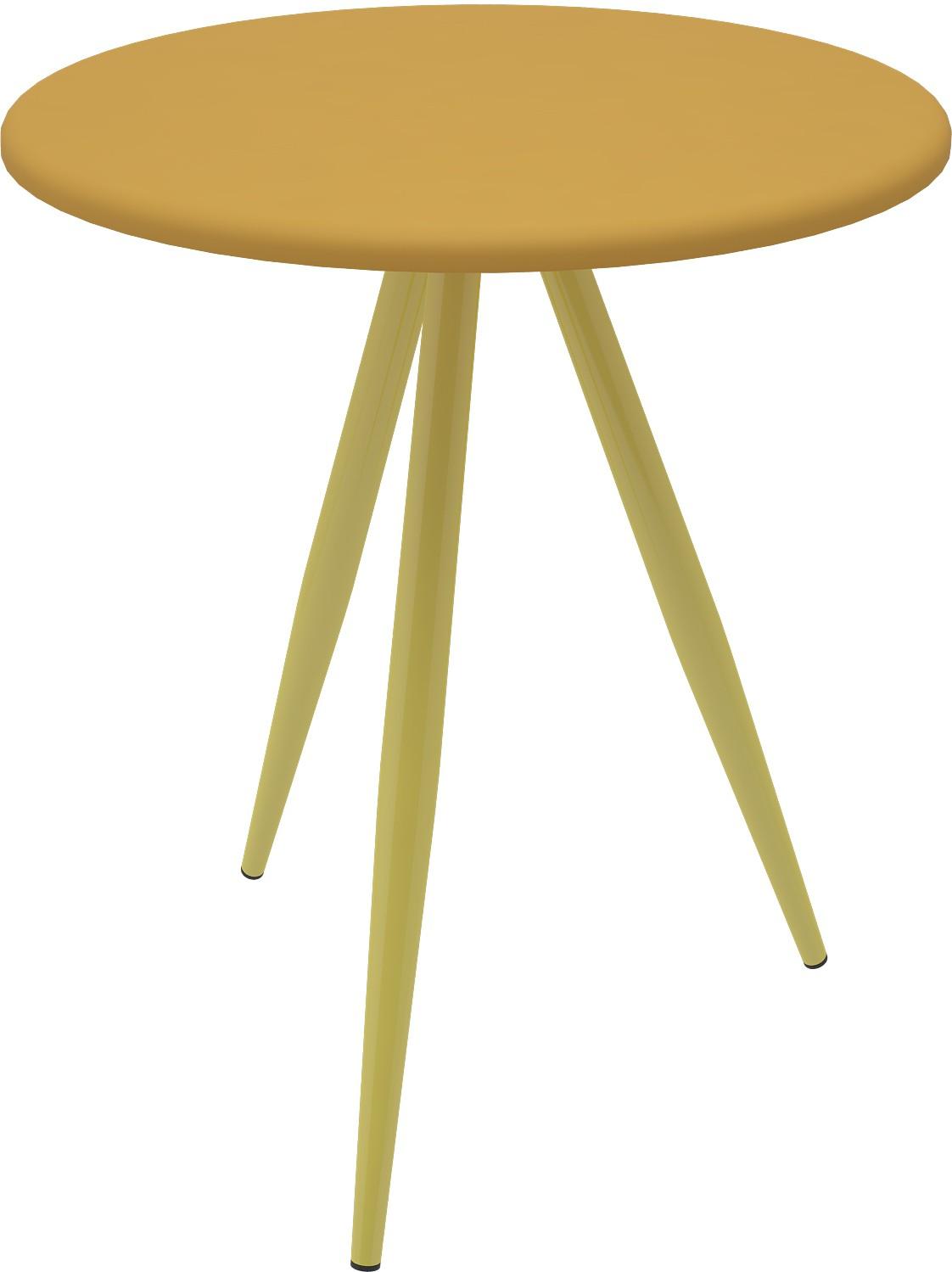 View Housefull Metal Corner Table(Finish Color - Yellow) Furniture (Housefull)