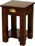 Induscraft Solid Wood Bedside Table (Fin...