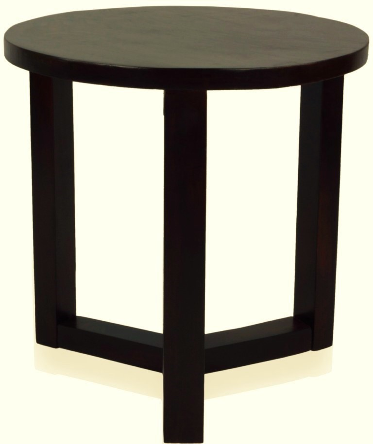 View Mubell Mignin Solid Wood Side Table(Finish Color - Mahogany) Furniture (Mubell)