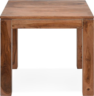@home by Nilkamal Dortmund Solid Wood Side Table