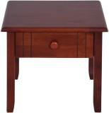 Evok Amber Solid Wood Bedside Table (Fin...
