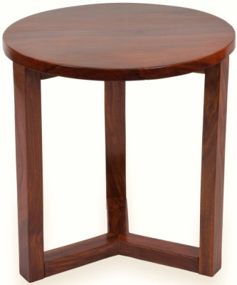 Mubell Luno Medium Sheesham Solid Wood Side Table