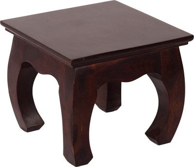 Wood Dekor Solid Wood End Table
