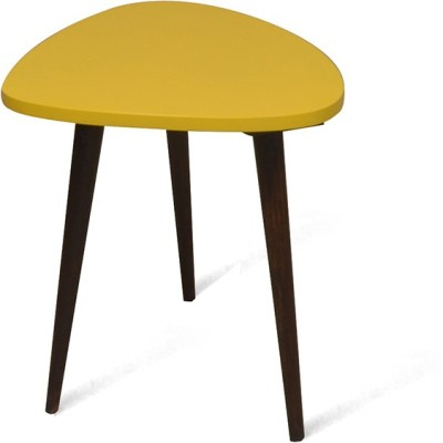 @home by Nilkamal Solid Wood Side Table