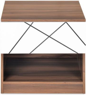 @home by Nilkamal Tiffany Engineered Wood Bedside Table