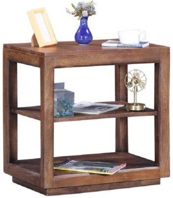 Ringabell Breco Solid Wood End Table(Finish Color - Teak)