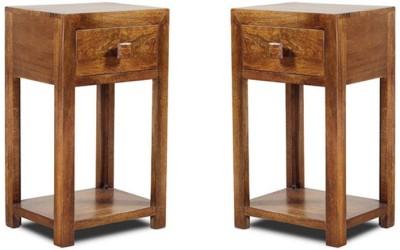 Smart Choice Furniture Mango Wood_JIBS19_Matte finish Solid Wood Side Table