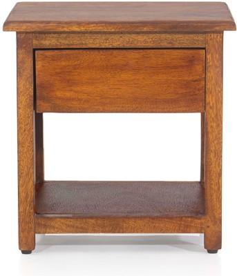 Evok Marko Solid Wood Bedside Table