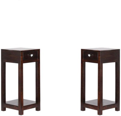 Smart Choice Furniture Rosewood (Sheesham)_JIBS01_Matte finish Solid Wood Side Table