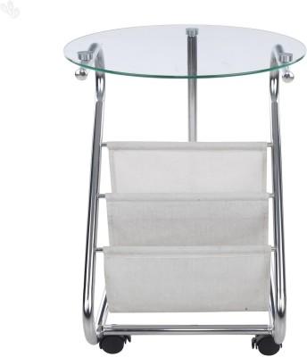 Royal Oak Hosta Metal Corner Table