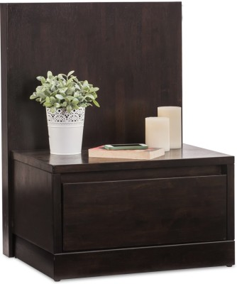 Durian WILSON/NT/B Solid Wood Bedside Table