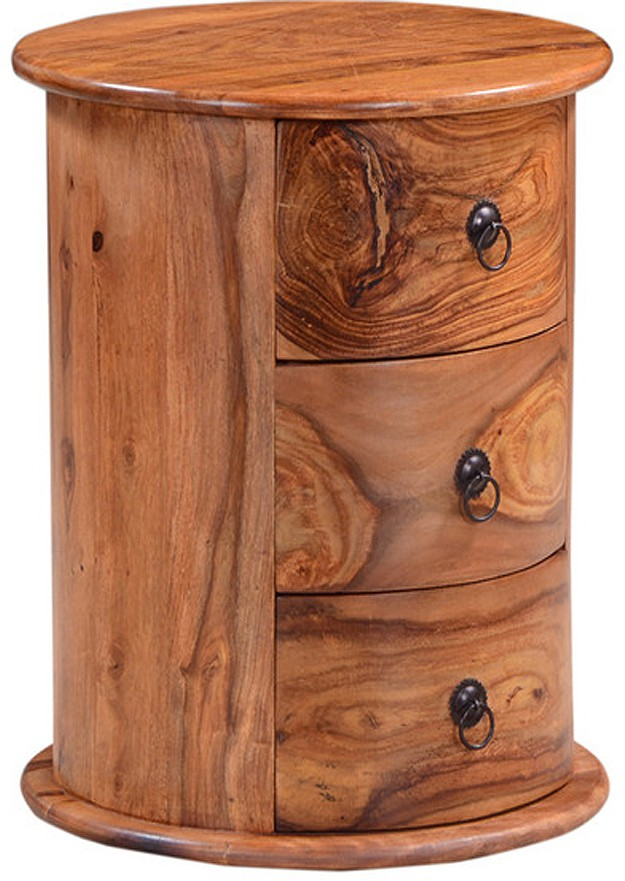 Ringabell Levoke Solid Wood End Table