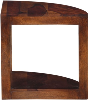 SMARVVV PRODUCTIONS Solid Wood End Table