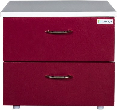 View Panajoy Panajoy Metal Bedside Table(Finish Color - Wine Red) Furniture (Panajoy)