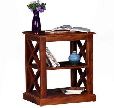 Ringabell Natty Solid Wood End Table(Finish Color - Honey Oak)