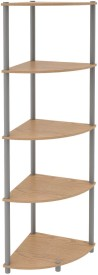 Housefull Engineered Wood Corner Table(Finish Color - Oak)
