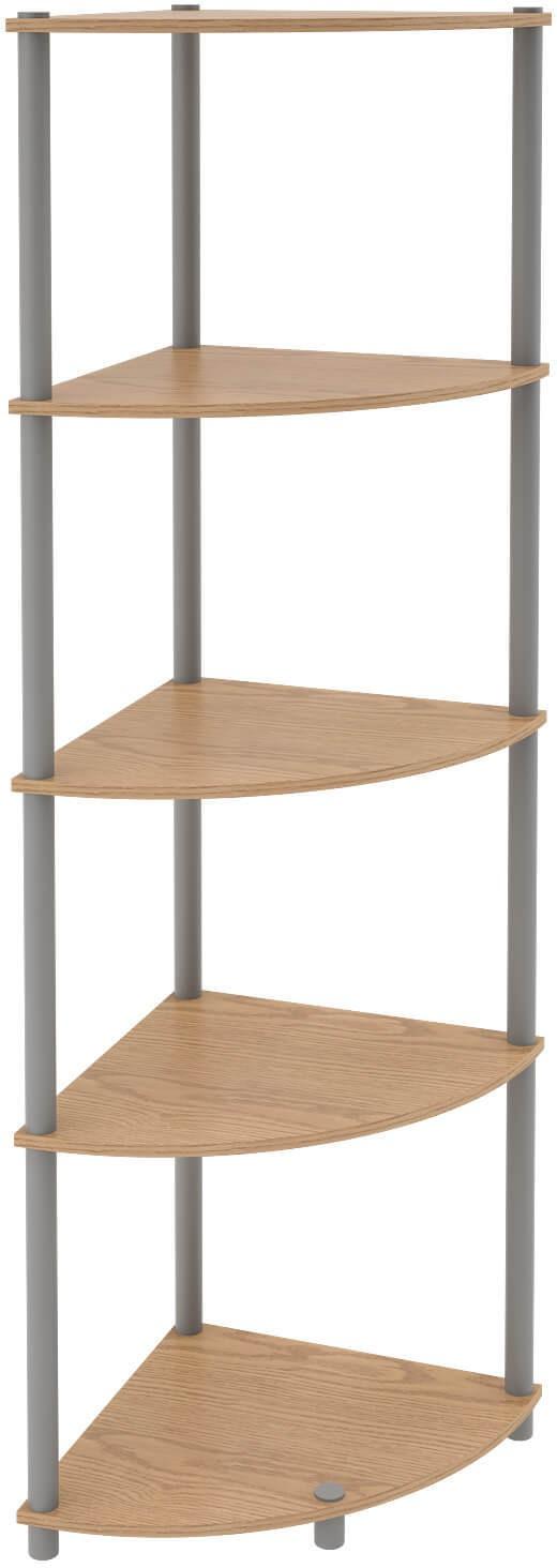 View Housefull Engineered Wood Corner Table(Finish Color - Oak) Furniture (Housefull)