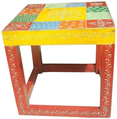 Asian Furniture AAE F Solid Wood Side Table