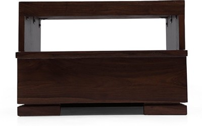 Urban Ladder Ohio Solid Wood Bedside Table(Finish Color - Mahogany)
