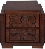 Evok Ambrosia Solid Wood Bedside Table (...