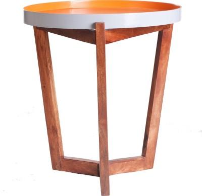 Orange Tree Engineered Wood Side Table