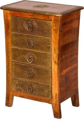 Induscraft Solid Wood Side Table