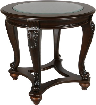 HomeTown Chrysler Solid Wood Side Table(Finish Color - Brown)