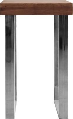 7 Homes 2 Side Stool Metal Side Table