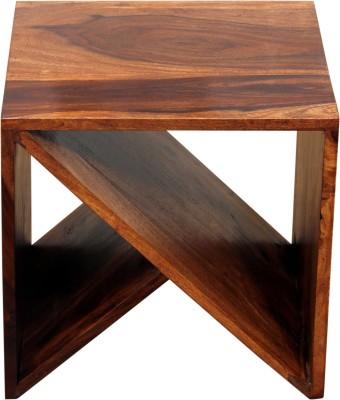 Induscraft Dispal Solid Wood Bedside Table