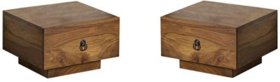 Smart Choice Furniture Rosewood (Sheesham)_JIBS18_Matte finish Solid Wood Bedside Table