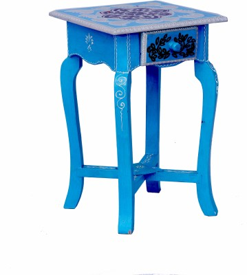 Kings Crafts Living & Bedroom Stool(Blue)