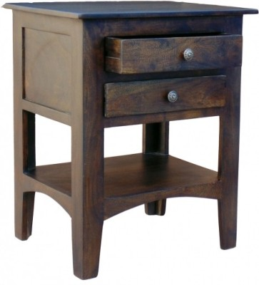 D.K.Arts Solid Wood End Table