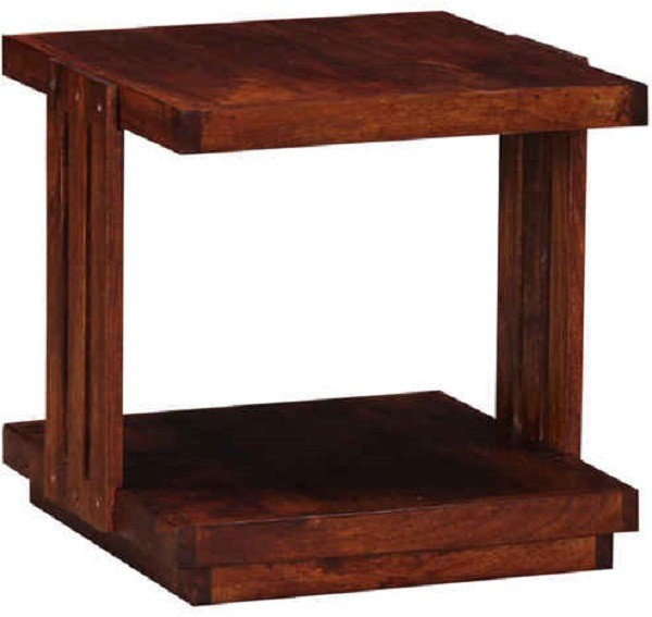 View Ringabell Altmesh Solid Wood Side Table(Finish Color - Honey Oak) Price Online(Ringabell)