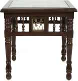 ExclusiveLane Solid Wood Side Table (Fin...