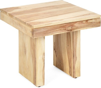 @home by Nilkamal Delmonte Solid Wood Side Table