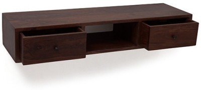 Urban Ladder Claudio Wall-mounted Solid Wood Console Table(Finish Color - Mahogany)