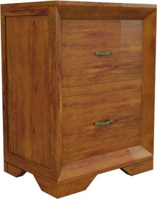 Amaani Furnture's Solid Wood Bedside Table